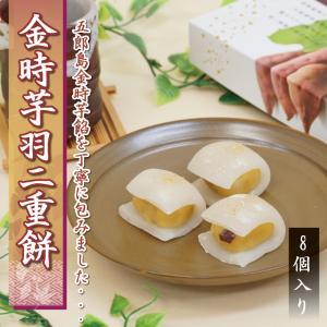 金時芋羽二重餅 8個入り ゆうパケット|smileshoutengai