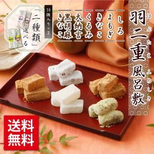 羽二重風呂敷 2個セット 羽二重餅 和菓子ゆうパケット【ポスト投函可能】|smileshoutengai