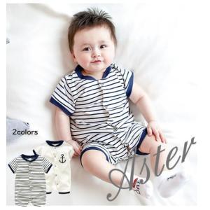 09b2f14da85f2  製品仕様  □商品名 ベビー服 ロンパース 半袖 新生児 カバーオール ボーダー 男の子 女の子 .