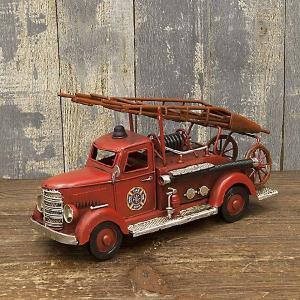 ブリキのおもちゃ ヴィンテージカー Fire Dept 消防車