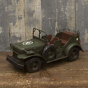 ブリキのおもちゃ ヴィンテージカー Army アーミー|smilevillage