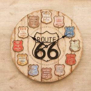 壁掛時計 アンティーククロック [Route66] ルート66|smilevillage