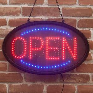 LED電飾オーバルフレーム オープン&クローズ Open & Closed|smilevillage
