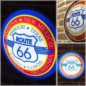 ラウンド ウォールランプ ルート66 [Route66]|smilevillage