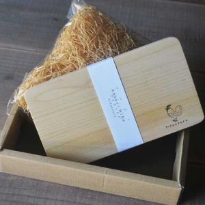 カビに強い、青森ヒバのカッティングボード&ヒバの糸 セット|smilevillage