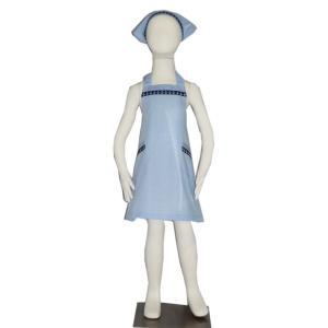 子供用エプロン三角巾セット NEWいかり L/LL(L身長135〜150cm / LL身長150〜160cm)|smilish