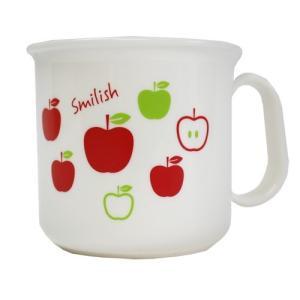 ランチ4点セット(アルミお弁当箱、カトラリーセット、耐熱コップ、お弁当袋)アップル柄|smilish|04