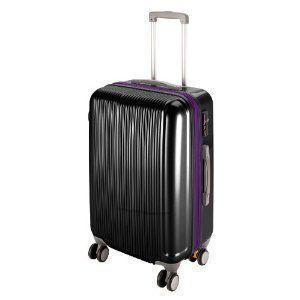 トラベルスーツケース(TSAロック付きWFタイプ)L(ブラック)