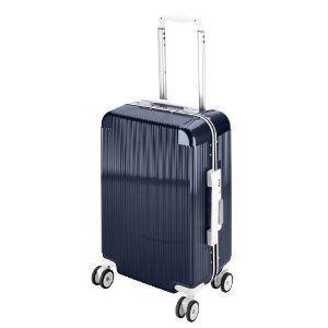 トラベルスーツケース(TSAロック付きコンパクトタイプ)(ネイビー)