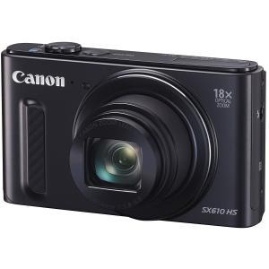 送料無料・在庫品 Canon デジタルカメラ PowerShot SX610 HS ブラック 光学18倍ズーム PSSX610HS(BK)|smltrading-y