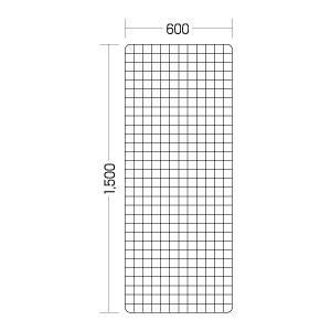 ワイヤーネット600×1500mmステンレス|sms
