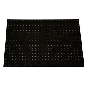 パンチングボード 黒 610×455mm 有孔ボード