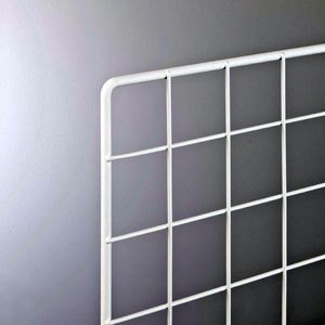 スチールラックワイヤーネット450×600mm 白|sms