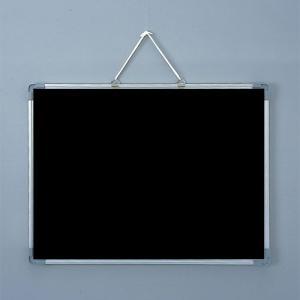 ブラックボード 壁掛け 600×450 マーカー用 マグネットボード マーカーボード 黒板|sms