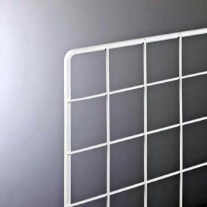 スチールラックワイヤーネット600×900mm 白|sms