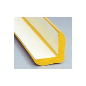 アングル型スポンジ黄 54×54×330 粘着付き|sms