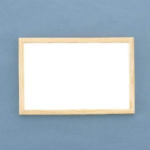 両面 ホワイトボード 木枠 450×600 おしゃれ sms