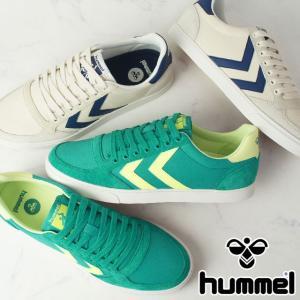 ヒュンメル hummel スニーカー メンズ レディース 202664 スリマースタディール ロー ローカット 靴 smw