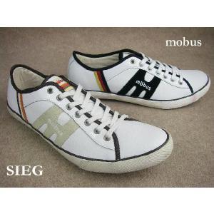 モーブス ジーク/ mobus SIEG M0916TV-GERMANY(ジャーマニー) M0906TV-1779(S.WHT/B.BRW) レディース メンズ スニーカー|smw
