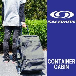 サロモン コンテナー キャビン 70L SALOMON CONTAINER CABIN トラベル キャリーバッグ アウトドア メンズ レディース ホイール  ラッピング・メール便不可|smw