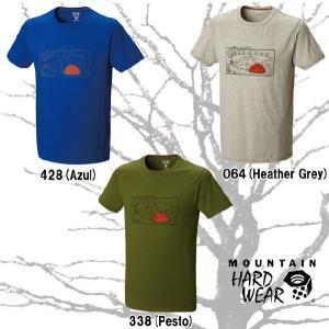 マウンテンハードウェア OM5820 テントフラッグショートスリーブ メンズ Tシャツ MOUNTAIN HARDWEAR MHW Tent Flag Short Sleeve  ラッピング・メール便不可|smw