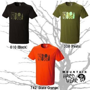 マウンテンハードウェア OM5822 ツールズオブトゥデイショートスリーブ メンズ Tシャツ MOUNTAIN HARDWEAR Tools of Today  ラッピング・メール便不可|smw