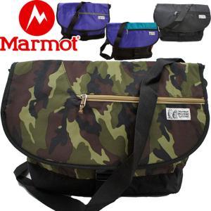 マーモット Marmot メンズ レディース MJB-S5357 メッセンジャー 15L ショルダー 斜め掛け BLK CMO PPL MLT 迷彩 カモフラージュ 通勤|smw