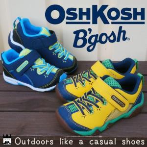オシュコシュ OSHKOSH 男の子 子供靴 キッズ チャイルド スニーカー OSK C396 オシュコシュビゴシュ ベルクロ カジュアルシューズ アウトドアタイプ 男児|smw