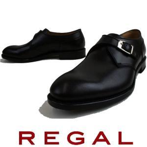 リーガル REGAL メンズ ビジネスシューズ 10HR BF ビジネス リクルート モンクストラップ フレッシャーズ ブラック|smw