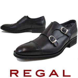 リーガル REGAL メンズ ビジネスシューズ 37HR BB ビジネス リクルート ダブルモンク ...