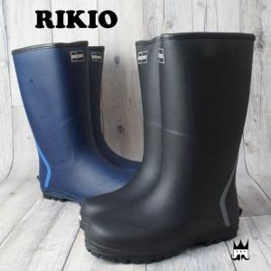 リキオウ 力王 メンズ レインブーツ W490U 防寒長靴 ...