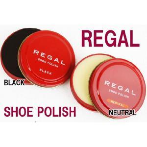 リーガル TY16 シューポリッシュ(缶) 50g REGAL SHOE POLISH アフターケア シューケアケア用品 ツヤ革靴用ツヤ出しクリーム 保護  メール便不可|シューマートワールド