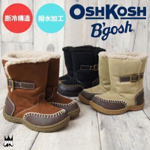 オシュコシュ OSHKOSH  男の子 女の子 子供靴 キッズ チャイルド OSK WC131 ムートンブーツ ウィンターブーツ ベルト ボア ショート 撥水 スノーブーツ|smw