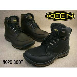 キーン 靴 13024 ノポ ブーツ / KEEN NOPO BOOT メンズ カジュアルシューズ ショート ブーツ レザー アウトドア 1002836(BLCK) 1002838(SLBK) smw