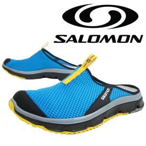 サロモン SALOMON RX スライド 3.0 メンズ サンダル 371297 RX SLIDE 3.0 クロッグサンダル カジュアル リラックス ブルー/ブラック|smw