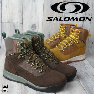 サロモン SALOMON ユーティリティ プロ TS CSWP メンズ ブーツ 376455・372632 クライマシールド ウォータープルーフ ハイカット 防寒  保温|smw