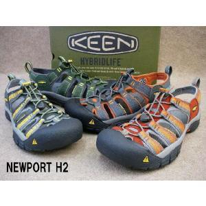 キーン ニューポート H2 / KEEN NEWPORT H2 1001903(バーン) 1001921(ダーク/ボン) 1001924(ダークシャ) 1001925(フォ/ガー) メンズ サンダル|smw