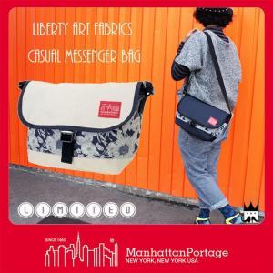 マンハッタンポーテージ Manhattan Portage レディース MP1605-JR-S-LBTY-18SS リバティーアートファブリック メッセンジャーバッグ ショルダーバッグ 花柄|smw
