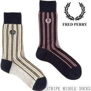 フレッドペリー FRED PERRY 靴下 メンズ レディース F19928 タータンミドルソックス...