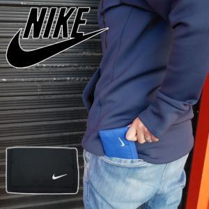 ナイキ NIKE 財布 メンズ レディース NS1002 ベーシックウォレット 三つ折り財布 小銭入れ コインケース カードケース ウォレット シンプル 黒 青 赤 ブラック|smw
