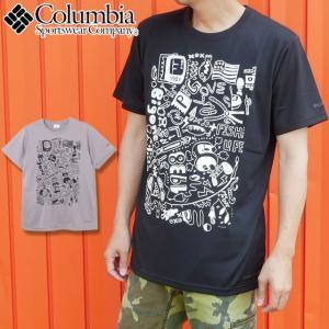 コロンビア Columbia アパレル メンズ レディース PM1492 コールドウォーターレイクショートスリーブTシャツ ティーシャツ カットソー 半袖 Uネック 吸湿 速乾|smw