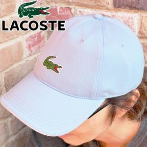 ラコステ LACOSTE 帽子 メンズ レディース RK4962L-2YR ウルトラドライ鹿の子地ゴルフキャップ ベースボールキャップ ぼうし UVカット スポーツ シンプル ワニ|smw
