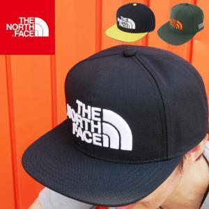 ザ・ノースフェイス THE NORTH FACE 帽子 メンズ レディース NN41811 TNFトラッカーキャップ フラットバイザー ベースボールキャップ ぼうし ストリート フェス