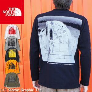 ザ・ノースフェイス THE NORTH FACE ロングTシャツ メンズ NT32042 ロングスリ...