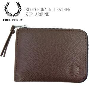 フレッドペリー FRED PERRY コインケース メンズ レディース L5289 スコッチグレイン...