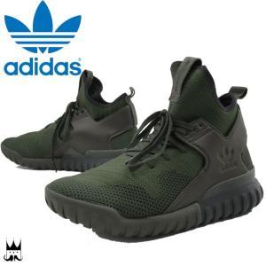 アディダス adidas 靴 チュブラー X PK メンズ スニーカー TUBULAR プライムニット ハイカット ストリート S76713|smw