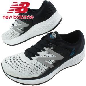 ニューバランス new balance スニーカー メンズ M1080 ワイズ2E ローカット ランニングシューズ マラソン ジョギング ホワイト|smw