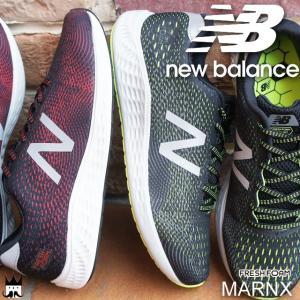 ニューバランス new balance メンズ スニーカー MARNX ワイズD ローカット 運動靴 FRESH FOAM レッド/シルバー ハイライト/ブラック smw