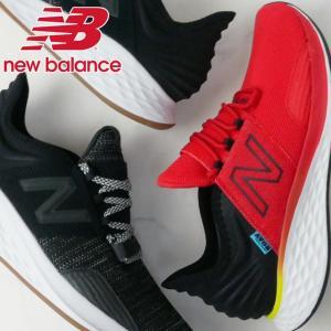 ニューバランス new balance スニーカー メンズ MROAV ワイズD ローカット ランニングシューズ ウォーキング ジョギング ブラック レッド|smw