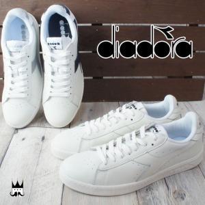 ディアドラ DIADORAゲーム L ロー WAXED メンズ スニーカー ローカット ロウカット スポーツ 運動靴 シンプル レザー 160821|smw